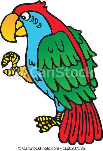 Parrot yellow beak - csp8237535