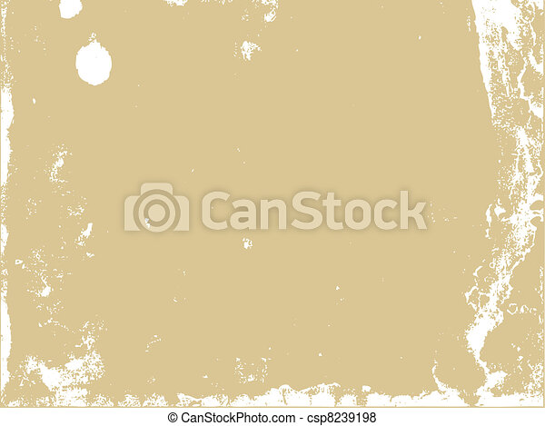 aging paper texture, vector illustration - csp8239198