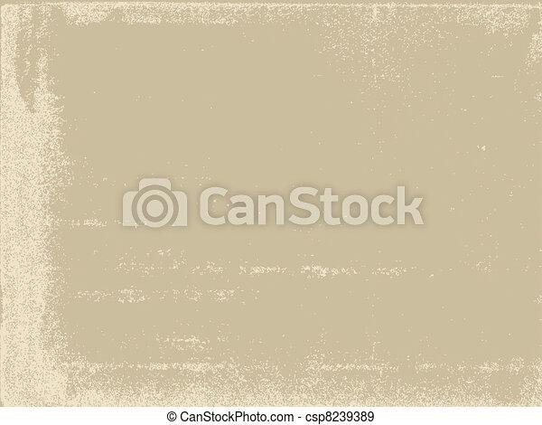 aging paper texture, vector illustration - csp8239389