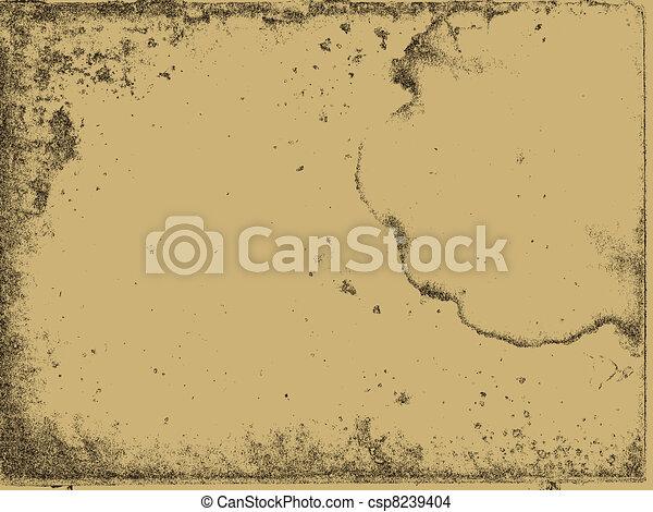 aging paper texture, vector illustration - csp8239404