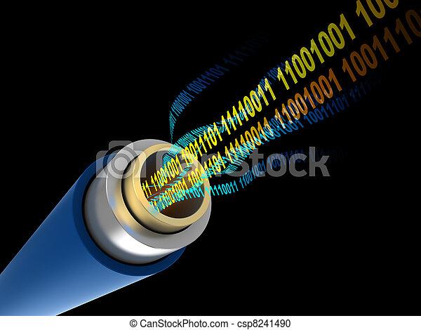Daten,  digital - csp8241490