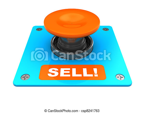 sell button - csp8241763