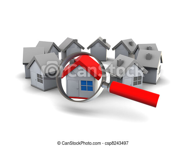 find house - csp8243497