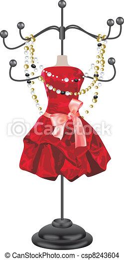 Jewelry hanger - csp8243604