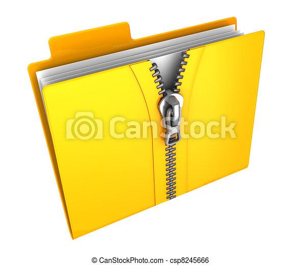 zipped folder - csp8245666