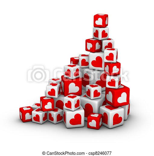 valentines day sales - csp8246077