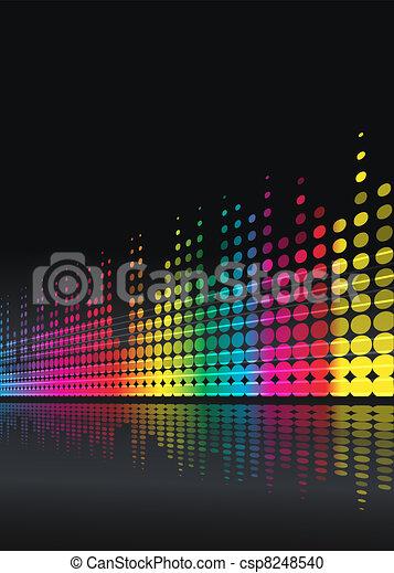 musical background - csp8248540