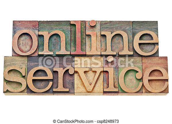 online service - internet concept - csp8248973