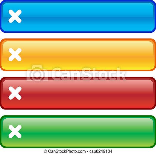 Cancel buttons. - csp8249184