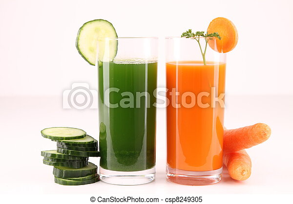 vegetable cocktail, drinks - csp8249305