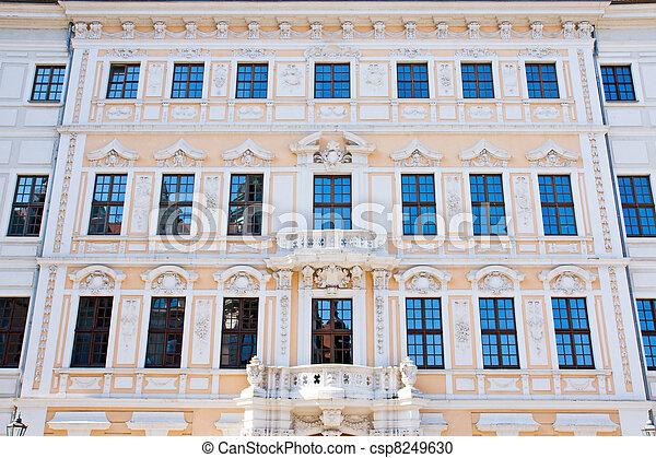 Nice restored house in Dresden  - csp8249630