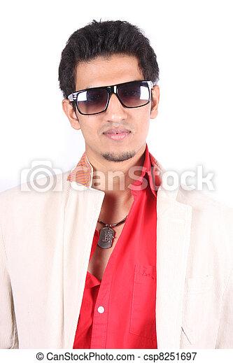 Cool Indian Dude - csp8251697