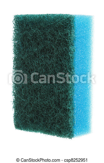 Bath sponges isolated - csp8252951