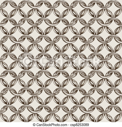 chain mail seamless wallpaper - csp8253089