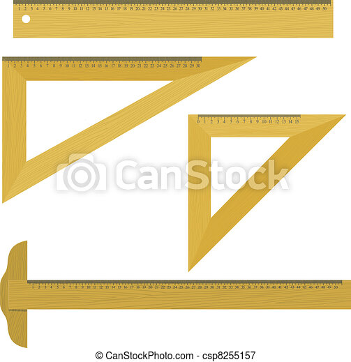 Set of vector illustrations objects for drawing - csp8255157