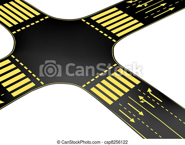 Vector crossroad - csp8256122