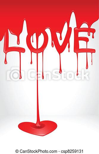 Love Drop - csp8259131
