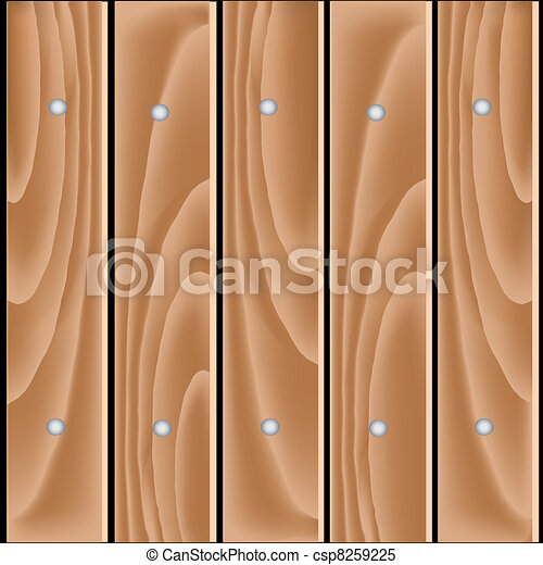 Vector wood planks - csp8259225