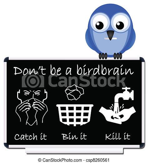 flu prevention message - csp8260561