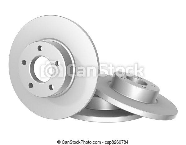 Brake disk - csp8260784
