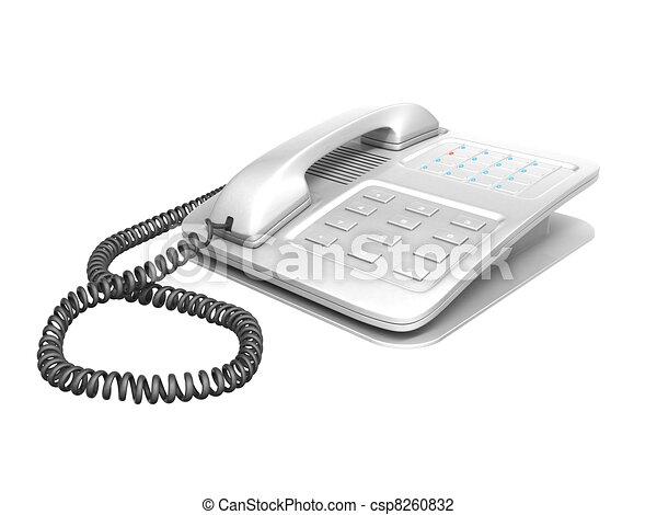 office telephone - csp8260832