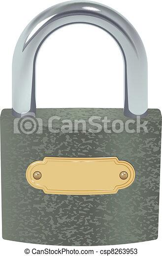 padlock - csp8263953