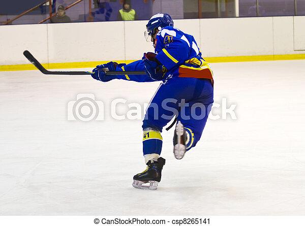 ice hockey player - csp8265141