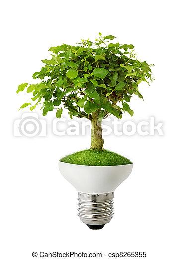 Green energy concept  - csp8265355