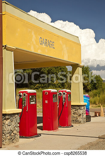 Rural Arizona Gas Station - csp8265538