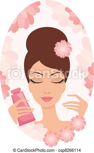 Beautiful young woman  - csp8266114