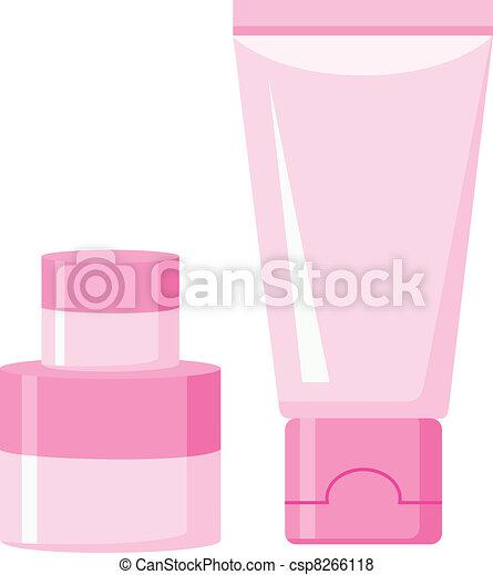 Cosmetic plastic containers - csp8266118
