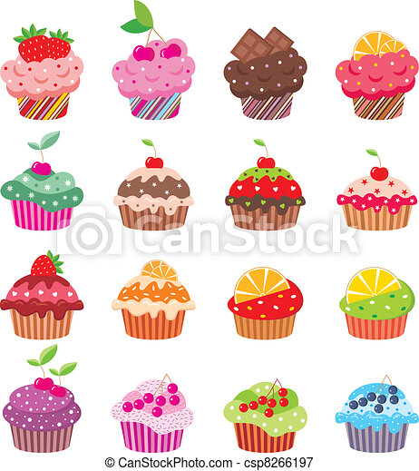 Cupcakes - csp8266197