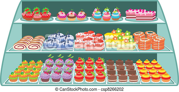 Sweet shop - csp8266202