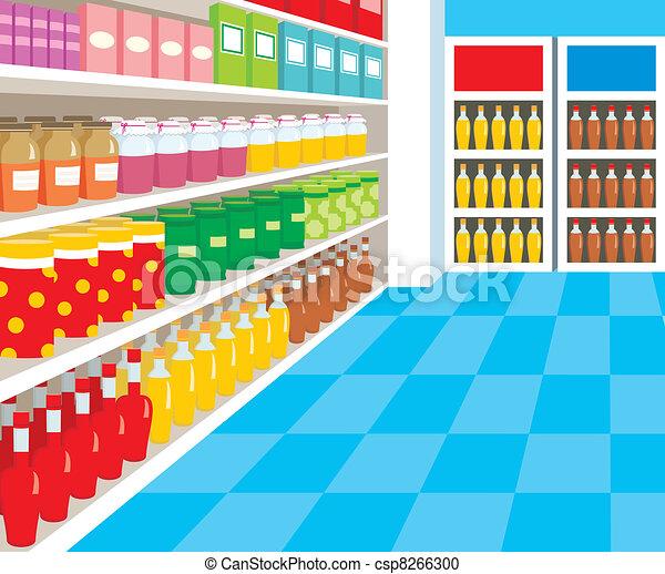 Supermarket - csp8266300