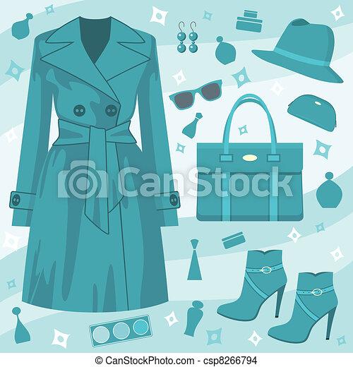 Autumn fashion set. - csp8266794