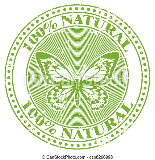 100% natural stamp - csp8266998