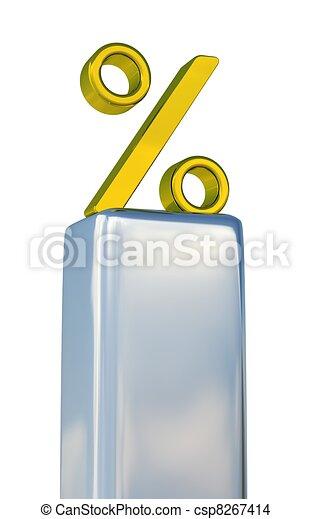 Gold percent  - csp8267414