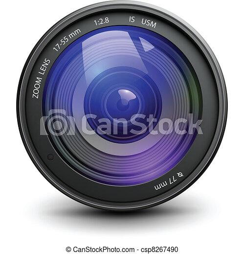 Photo lens - csp8267490