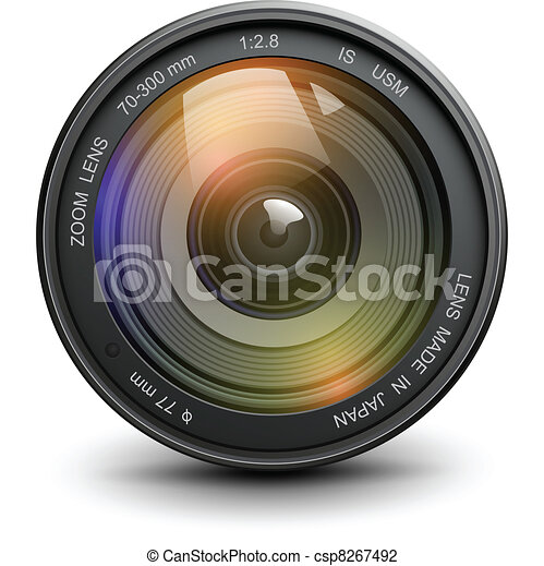 Photo lens - csp8267492