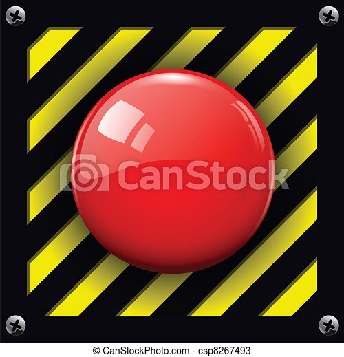alarm  button - csp8267493
