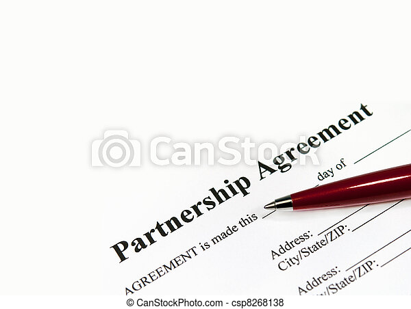 Partnership agreement - csp8268138