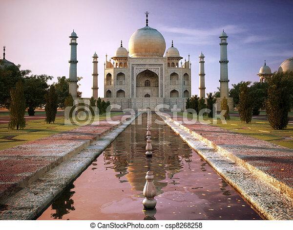 Taj Mahal - csp8268258