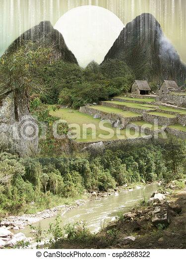 Fantasy landscape - csp8268322