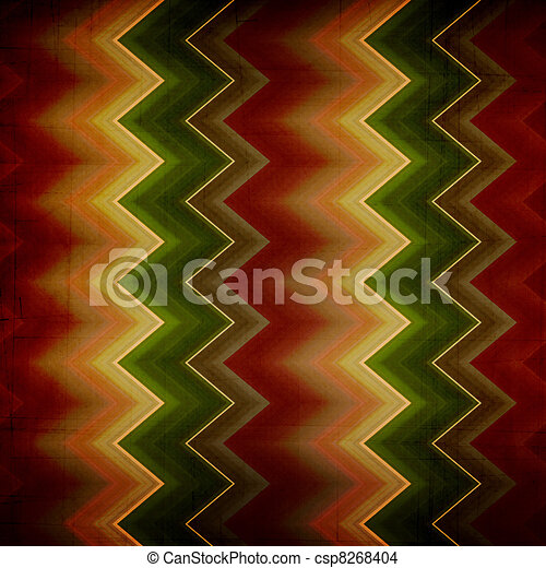 Shabby textile background bright and colorful  stripes  - csp8268404