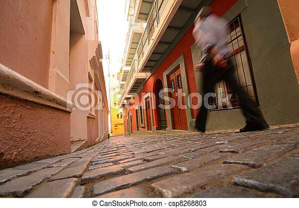 Old City of San Juan - csp8268803