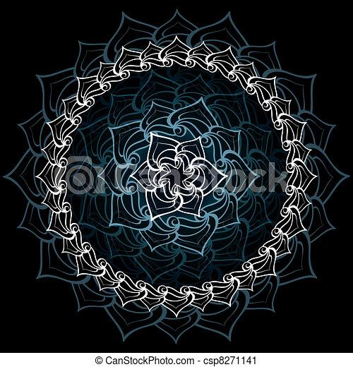 Mandala - csp8271141