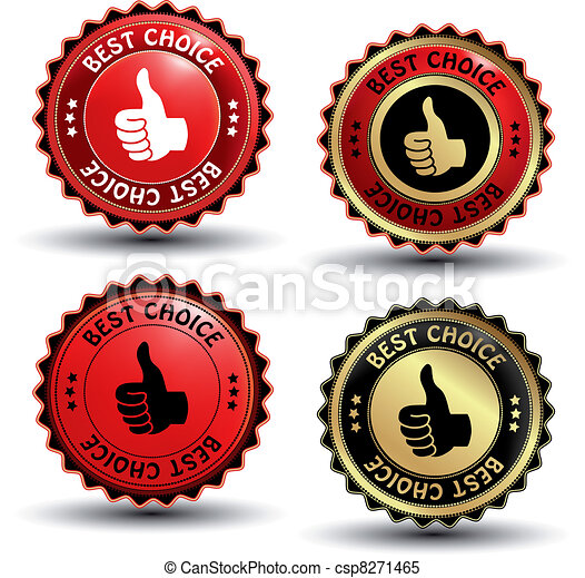 Vector best choice guaranteed labels - csp8271465