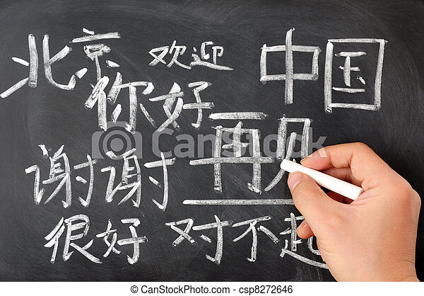 Chinese language studying - csp8272646