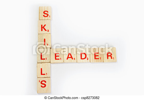 Skills and Leader - csp8273082