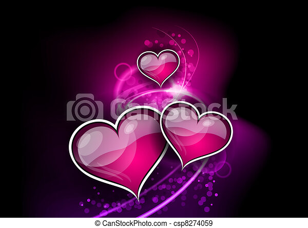 heart abstract - csp8274059